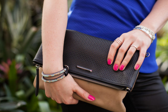 Stella&Dot bag as clutch