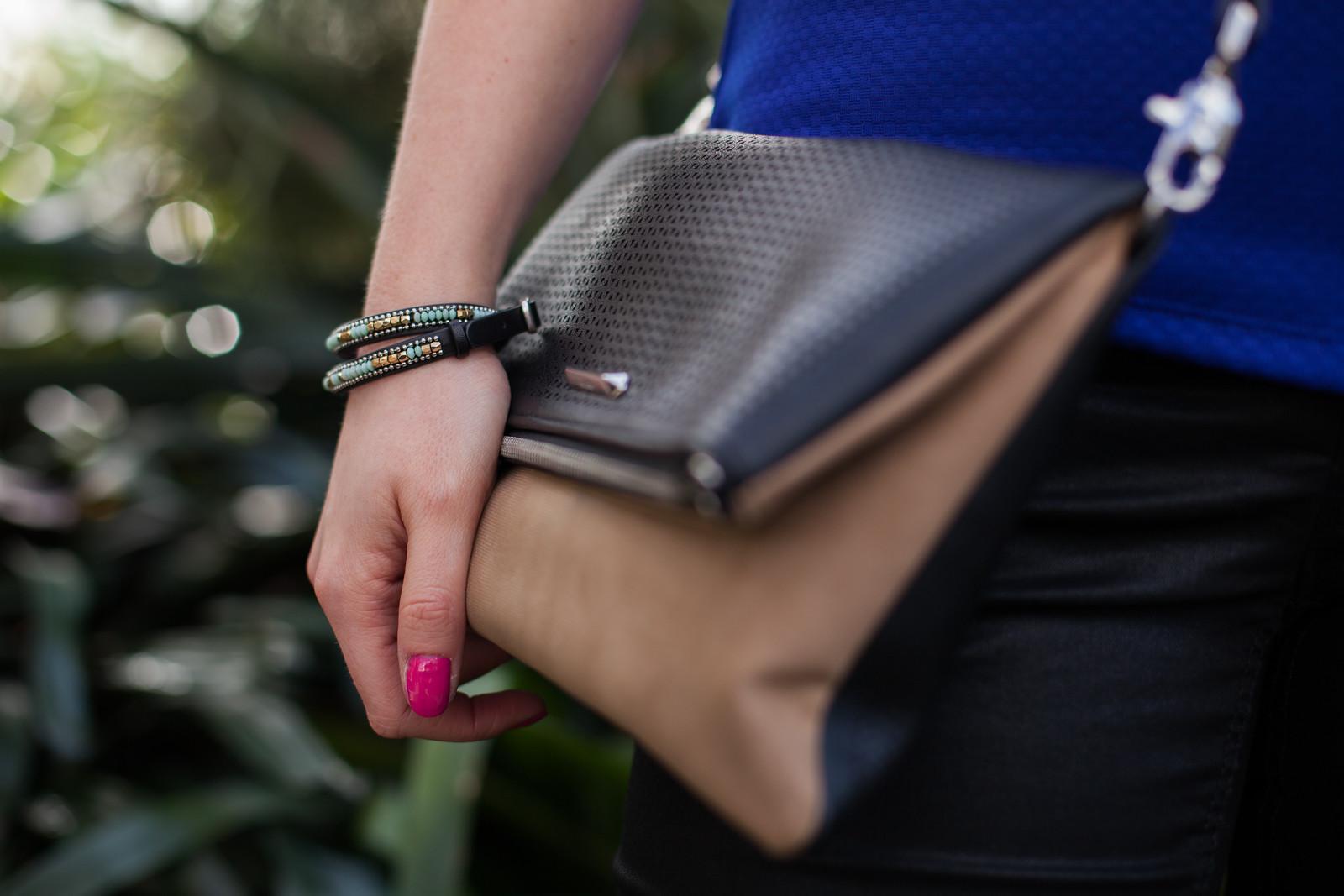 Stella&Dot bag as clutch