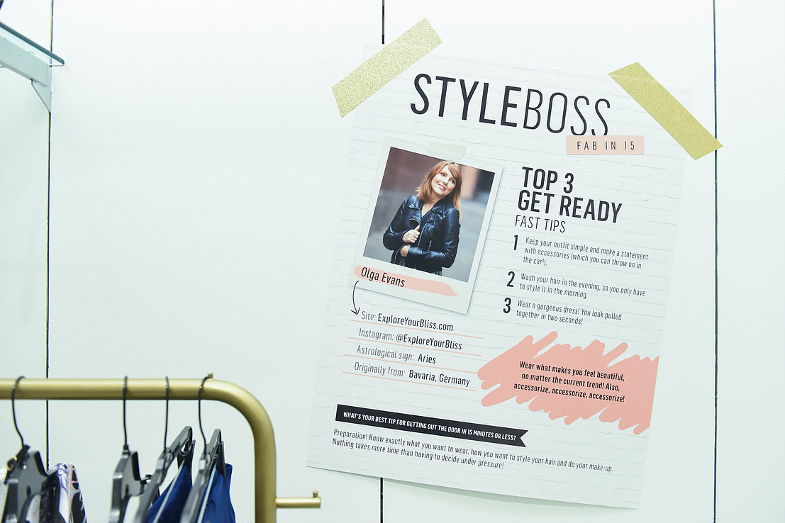 The Who What Wear Style Boss event at Westfield Southcenter mall