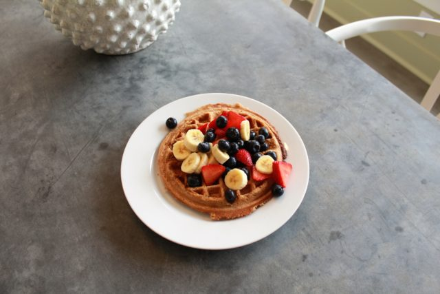 Jujubeet waffles