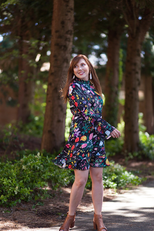 StyleWe floral dress