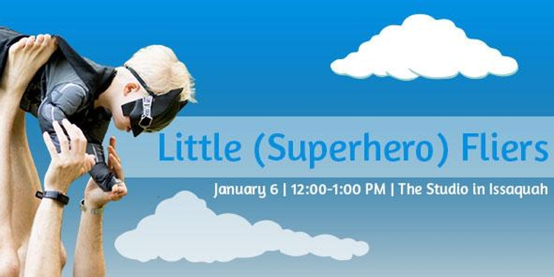 Little Superhero Fliers Yoga